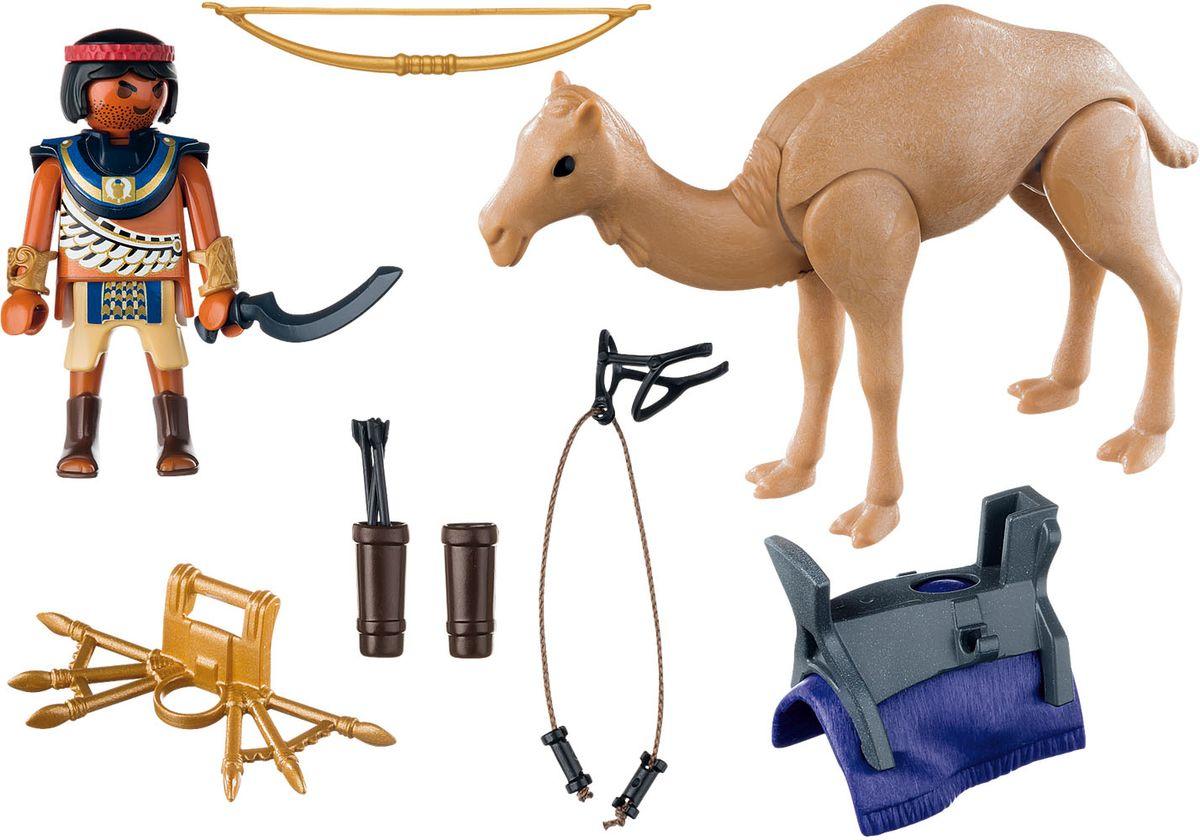 Playmobil Игровой набор Римляне и египтяне Египетский воин с верблюдом playmobil игровой набор девочка с морскими свинками