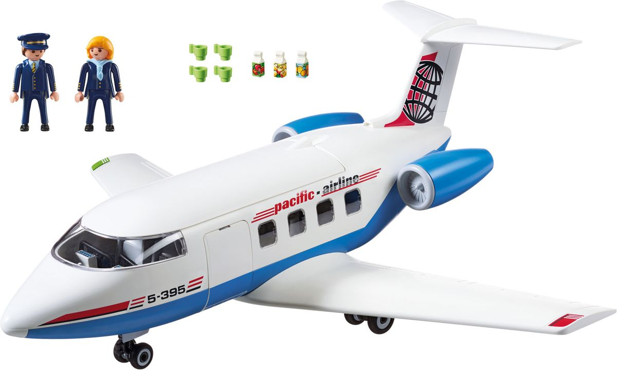 Playmobil Игровой набор Городской аэропорт Пассажирский самолет - Игровые наборы