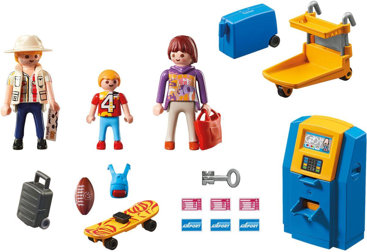 Playmobil Игровой набор Семья на регистрации зоопарк семья окапи playmobil