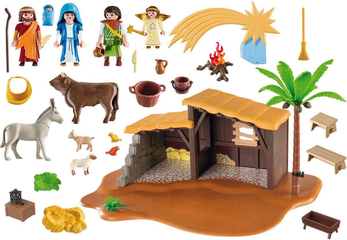 Playmobil Игровой набор Рождество Большой Рождественский вертеп