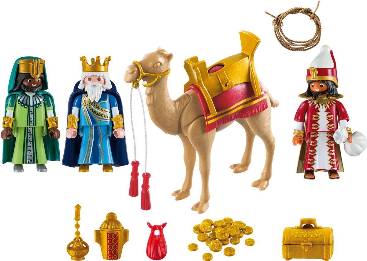 Playmobil Игровой набор Рождество Три мудрых Короля playmobil игровой набор девочка с морскими свинками