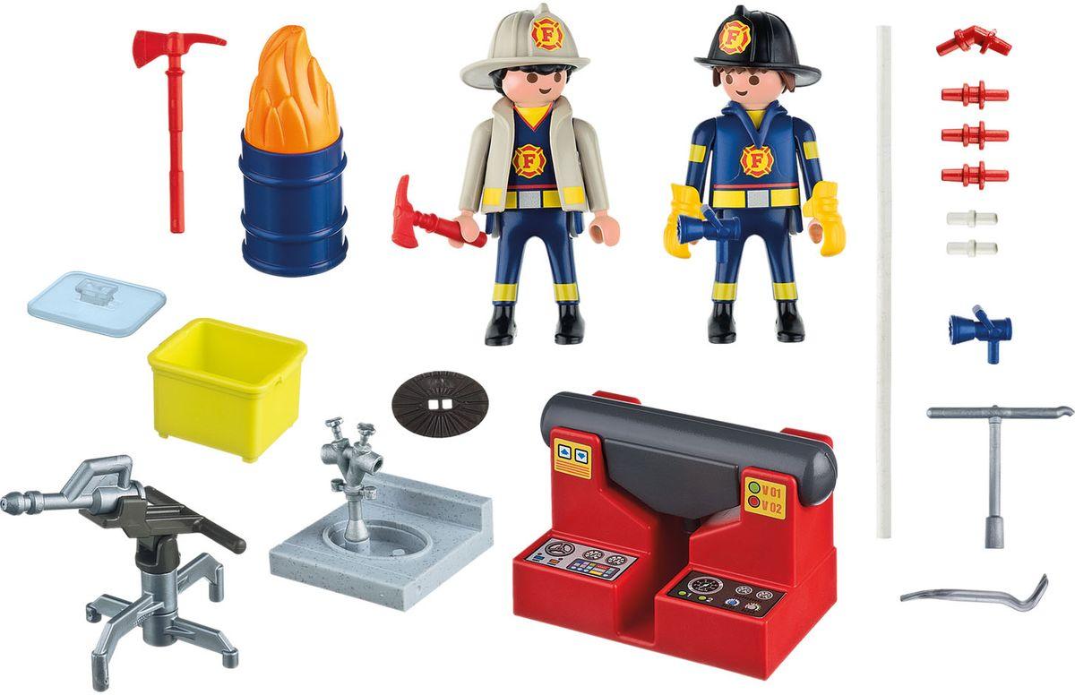 Playmobil Игровой набор Пожарная служба конструкторы playmobil игровой набор витрина