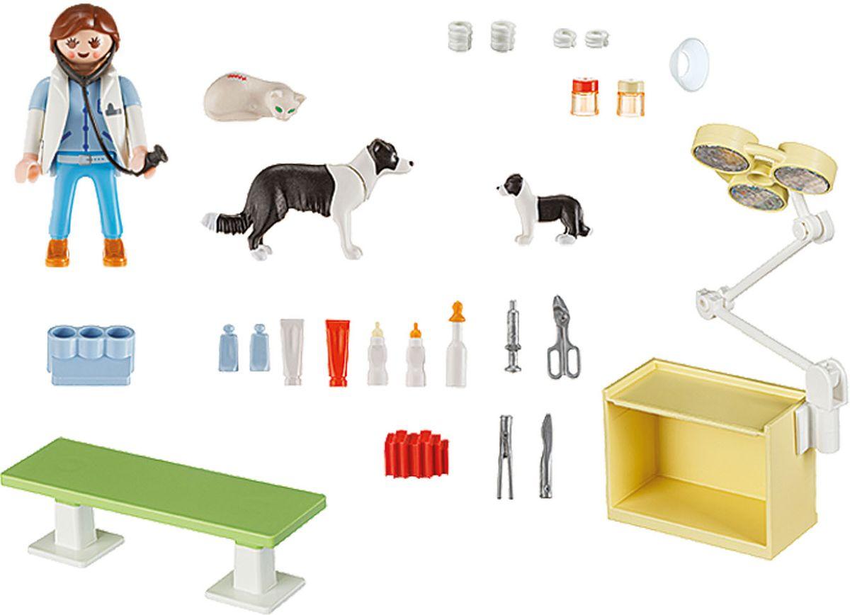 Playmobil Игровой набор Посещение ветеринарной клиники фэшн и стиль знаменитость на красной дорожке playmobil