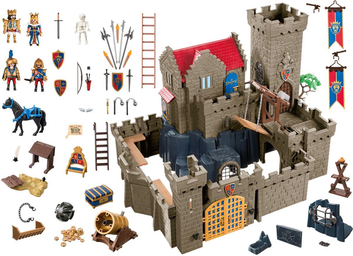 Playmobil Игровой набор Рыцари Королевский замок рыцарей Льва