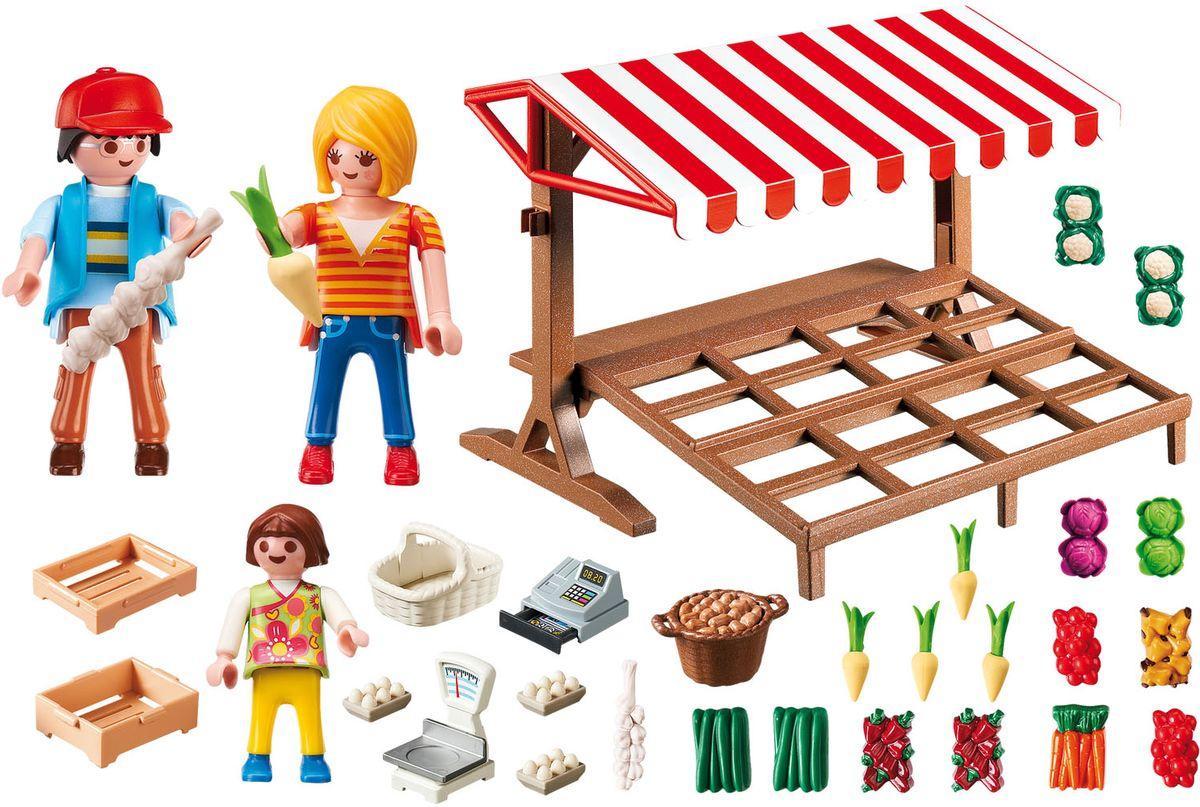 Playmobil Игровой набор Фермерский рынок коммунальный рынок в нежине купить бензо пилу