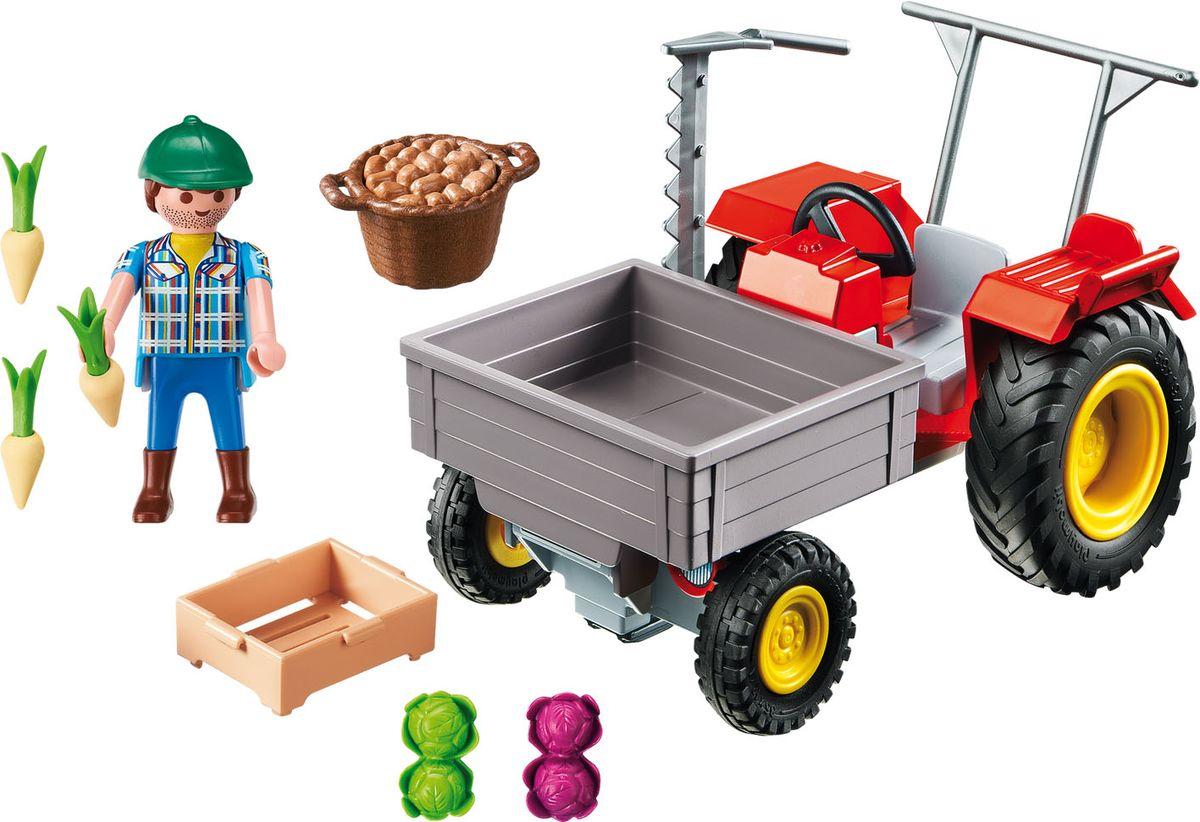 Playmobil Игровой набор Уборочный трактор playmobil игровой набор африка газели
