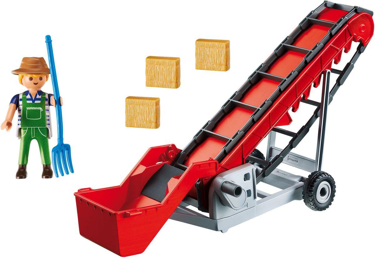 Playmobil Игровой набор Мобильный ленточный конвейер игровые наборы playmobil ферма мобильный ленточный конвейер