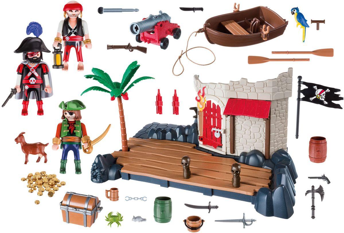Playmobil Игровой набор Пиратский форт особняк номер для гостей playmobil