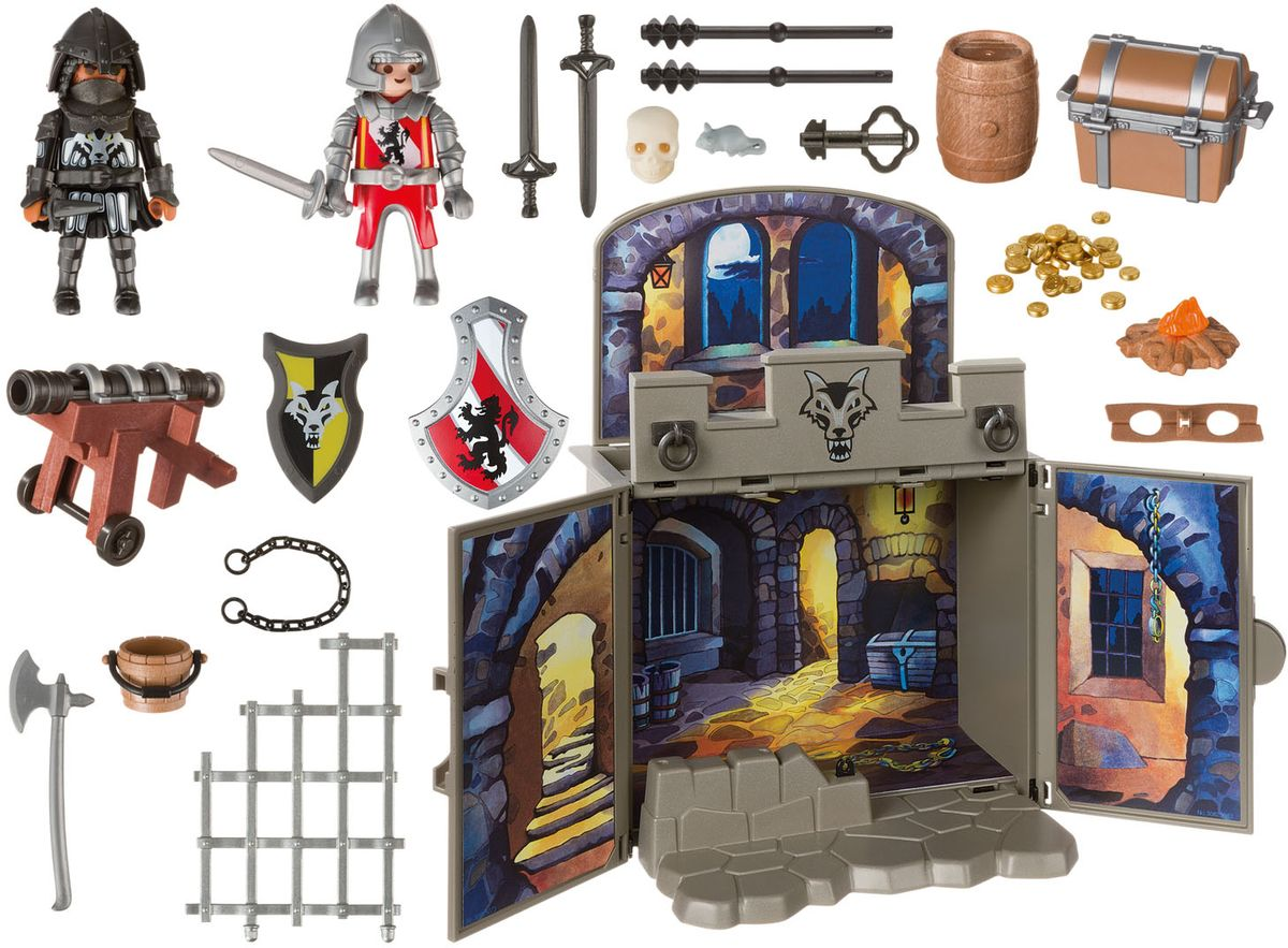 Playmobil Игровой набор Сокровищница рыцарей - Игровые наборы