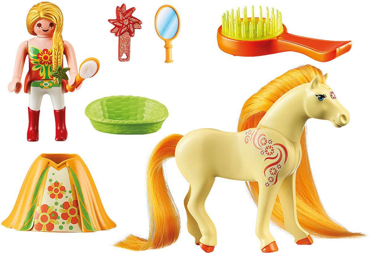 Playmobil Игровой набор Принцесса Санни с лошадкой принцесса xxl playmobil