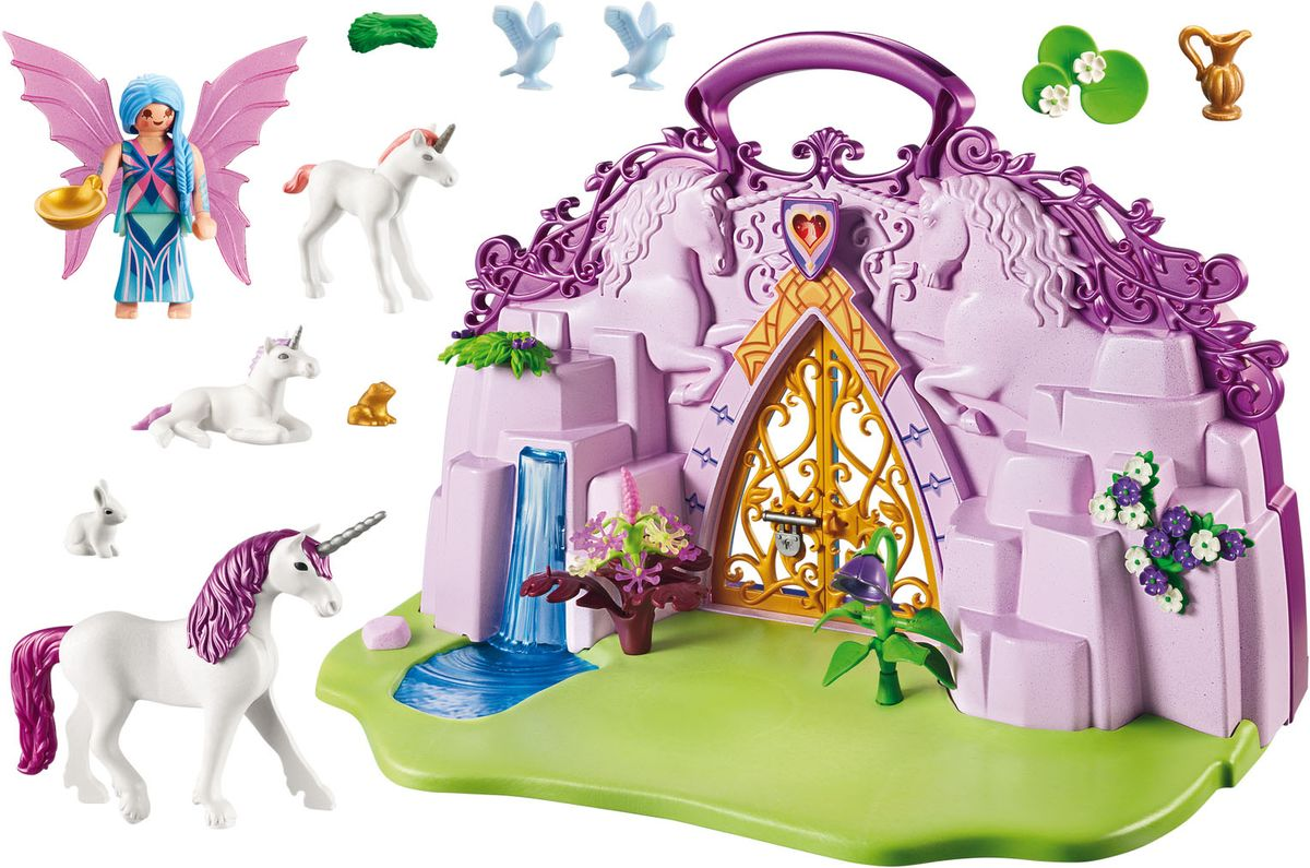 Playmobil Игровой набор Сад сказочного единорога
