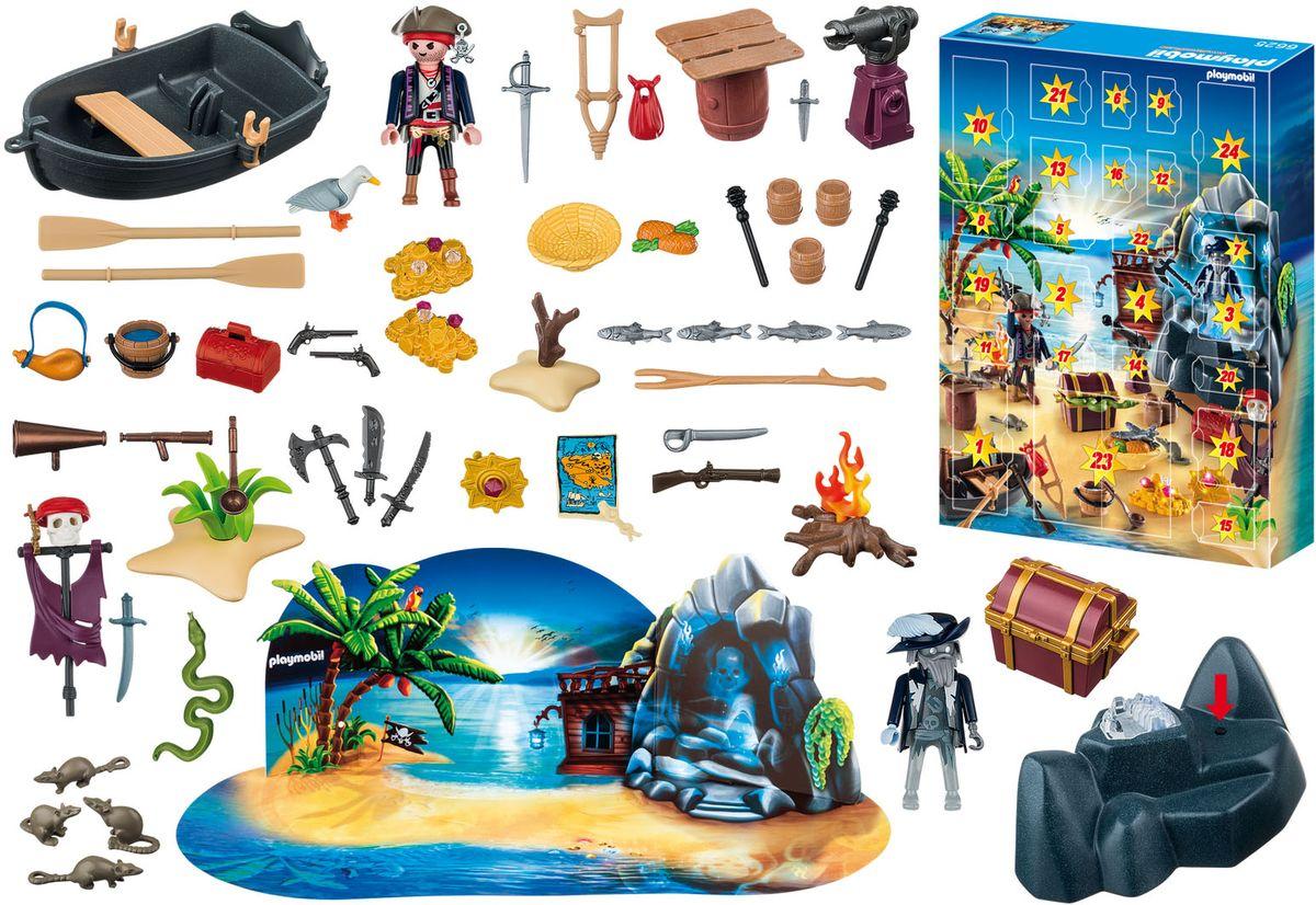 Playmobil Игровой набор Рождественский календарь Остров пиратских сокровищ набор для выжигания остров сокровищ