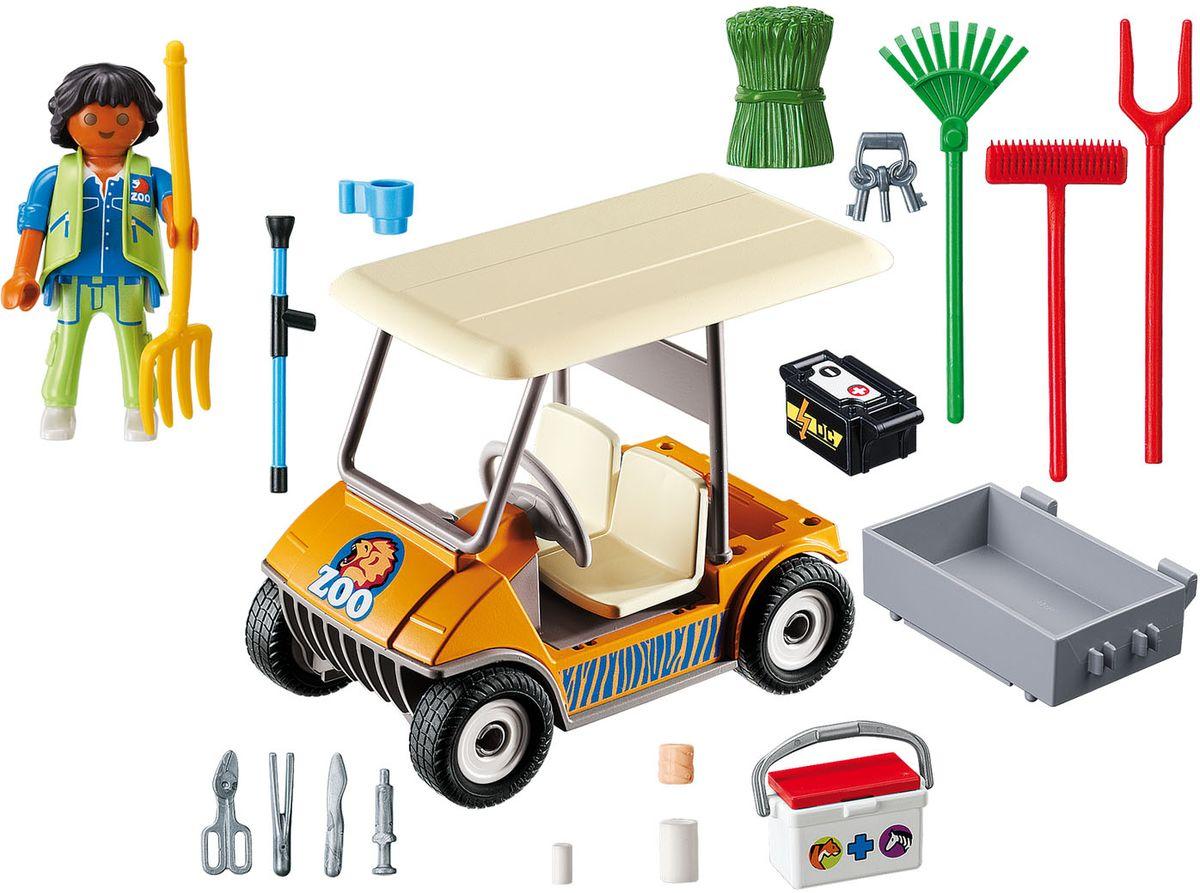 Playmobil Игровой набор Зоопарк Автомобиль фигурки игрушки playmobil зоопарк стая фламинго