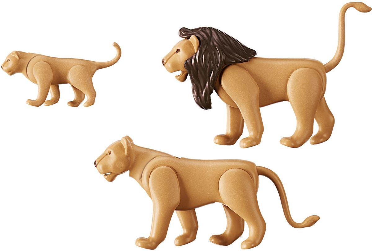 Playmobil Игровой набор Зоопарк Семья львов playmobil® зоопарк стая фламинго playmobil