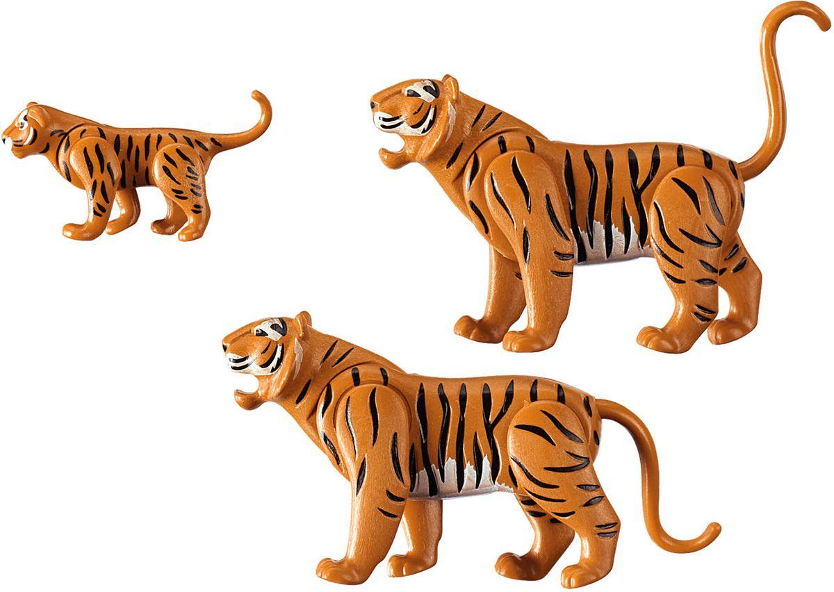 Playmobil Игровой набор Зоопарк Семья тигров playmobil® зоопарк стая фламинго playmobil