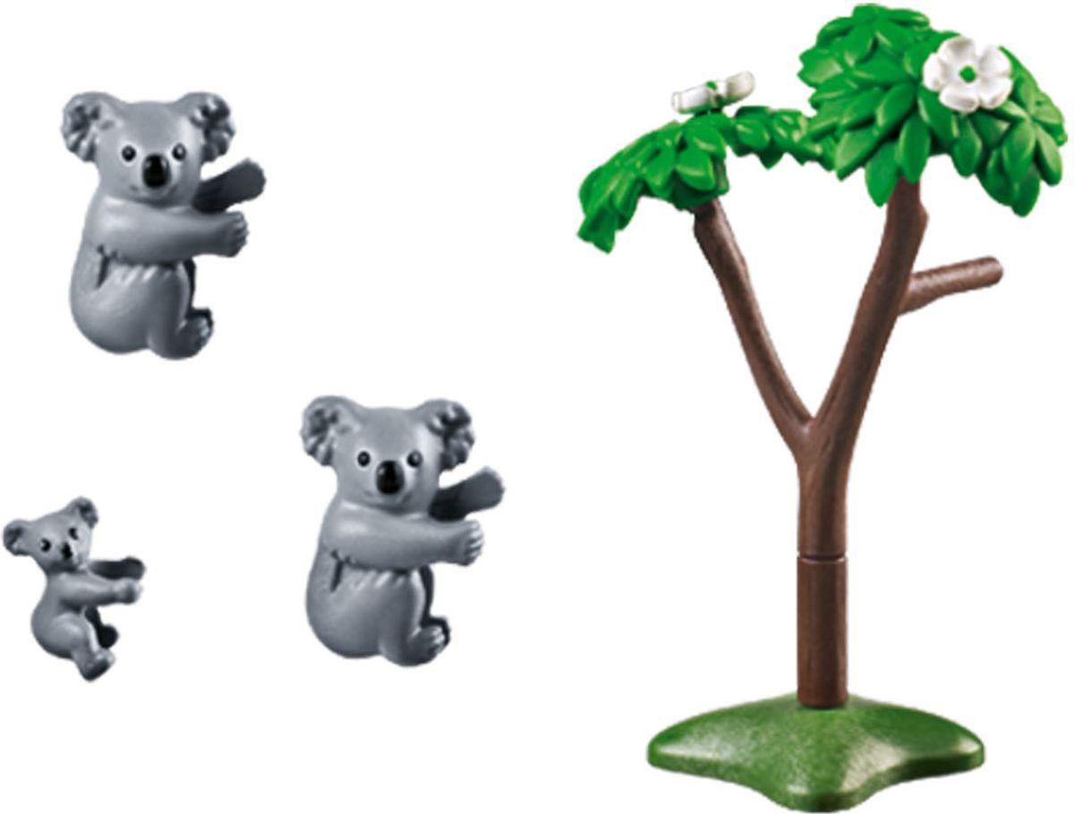Playmobil Игровой набор Зоопарк Семья коал playmobil® зоопарк стая фламинго playmobil