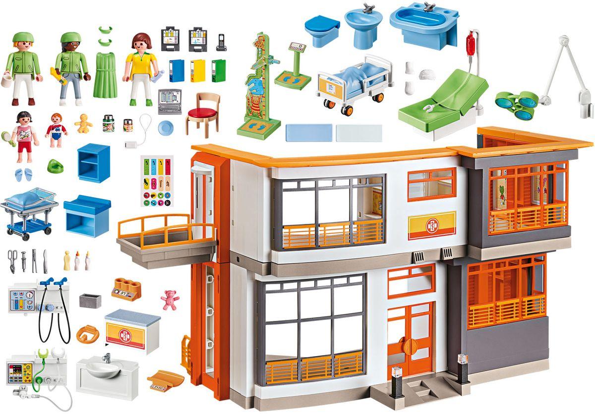 Playmobil Игровой набор Меблированная детская больница playmobil игровой набор кукольный дом детская комната для 2 детей