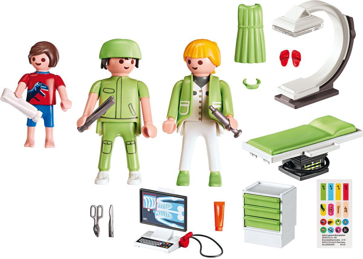 Playmobil Игровой набор Детская клиника Рентгеновский кабинет playmobil® детская клиника рентгеновский кабинет playmobil