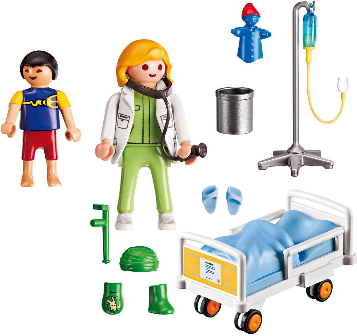 Playmobil Игровой набор Детская клиника Доктор с ребенком playmobil® playmobil 5289 секретный агент мега робот с бластером