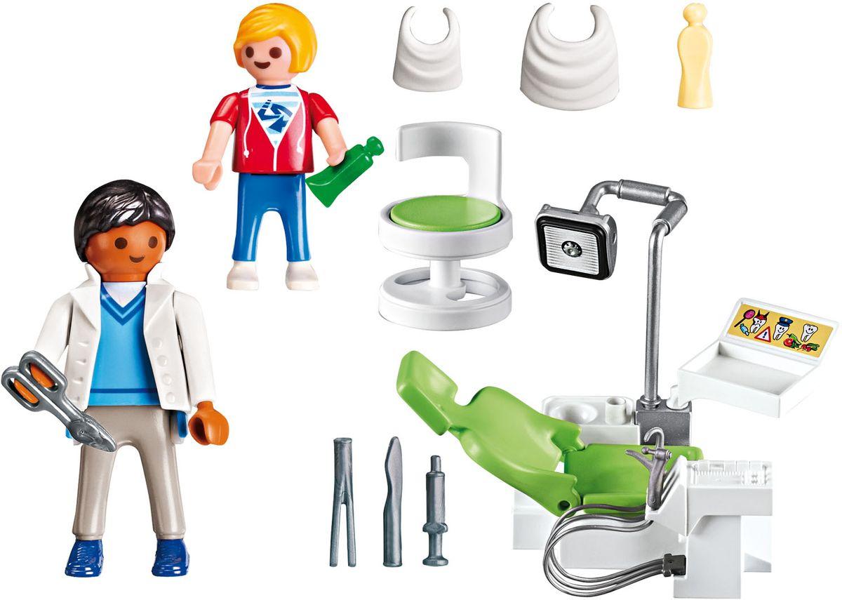 Playmobil Игровой набор Детская клиника Дантист с пациентом playmobil® детская клиника рентгеновский кабинет playmobil