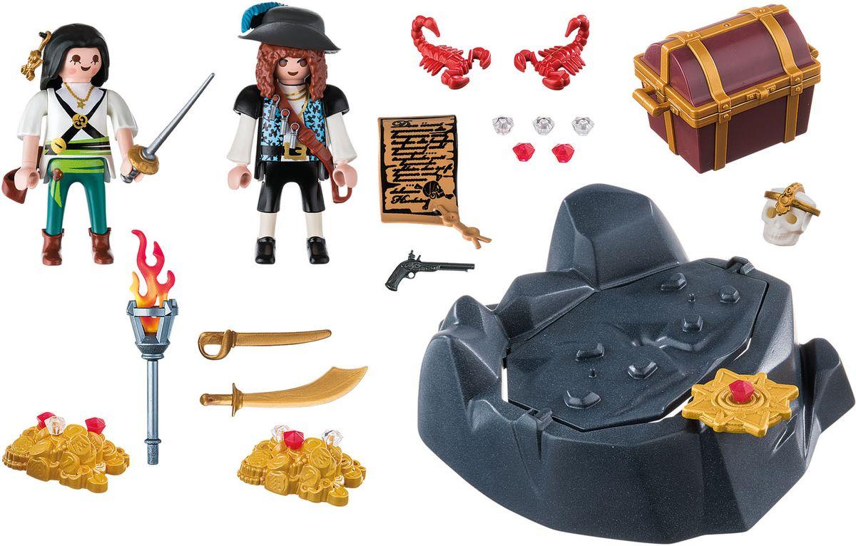 Playmobil Игровой набор Пираты Пиратский тайник с сокровищами