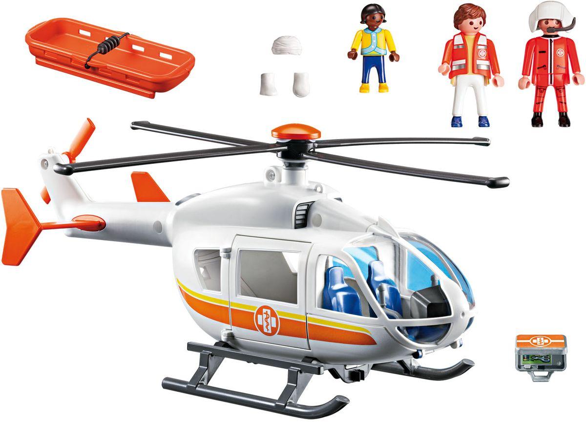 Playmobil Игровой набор Детская клиника Вертолет скорой помощи