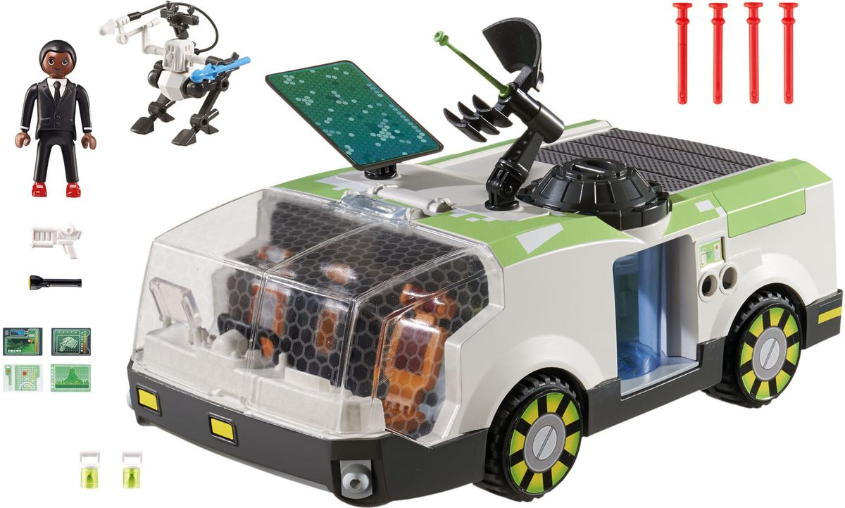 Playmobil Игровой набор Техно хамелеон с Джином playmobil® playmobil 5289 секретный агент мега робот с бластером