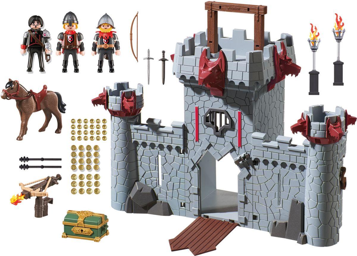 Playmobil Игровой набор Черный замок Барона schleich игровой набор кормление и уход за фризской лошадью