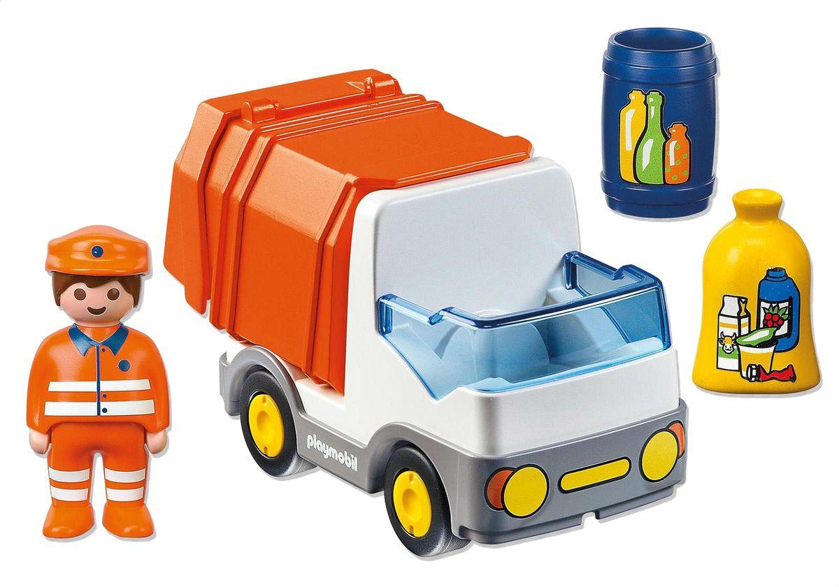 Playmobil Игровой набор Мусоровоз конструкторы playmobil игровой набор витрина