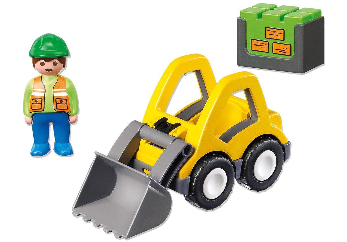 Playmobil Игровой набор Экскаватор playmobil игровой набор в поисках приключений лодка с браконьерами