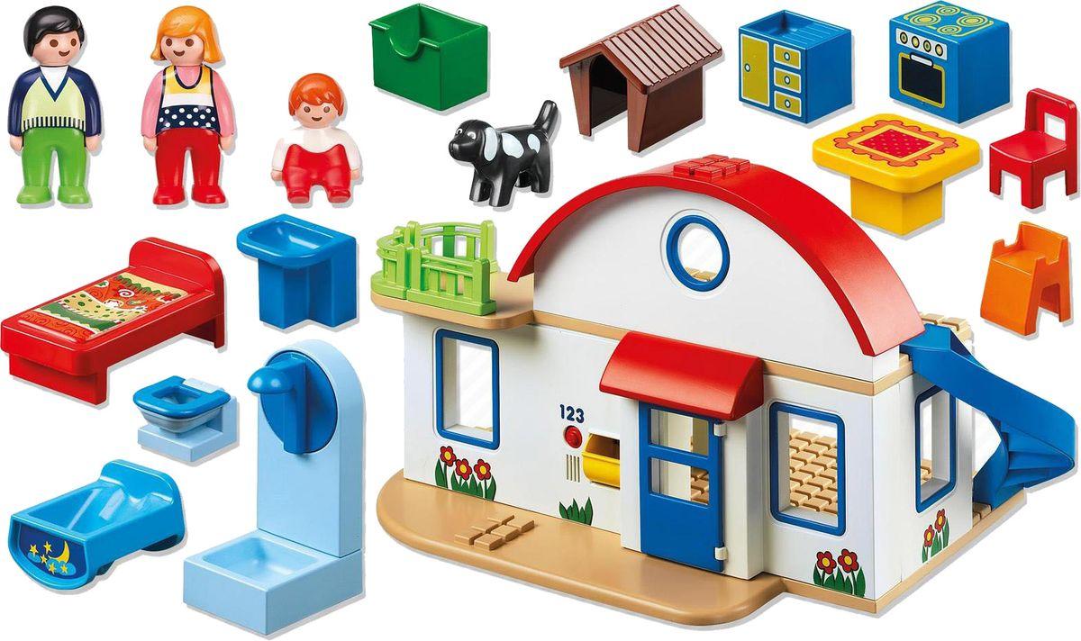 Playmobil Игровой набор Загородный дом дополнительный этаж для домика смоланд