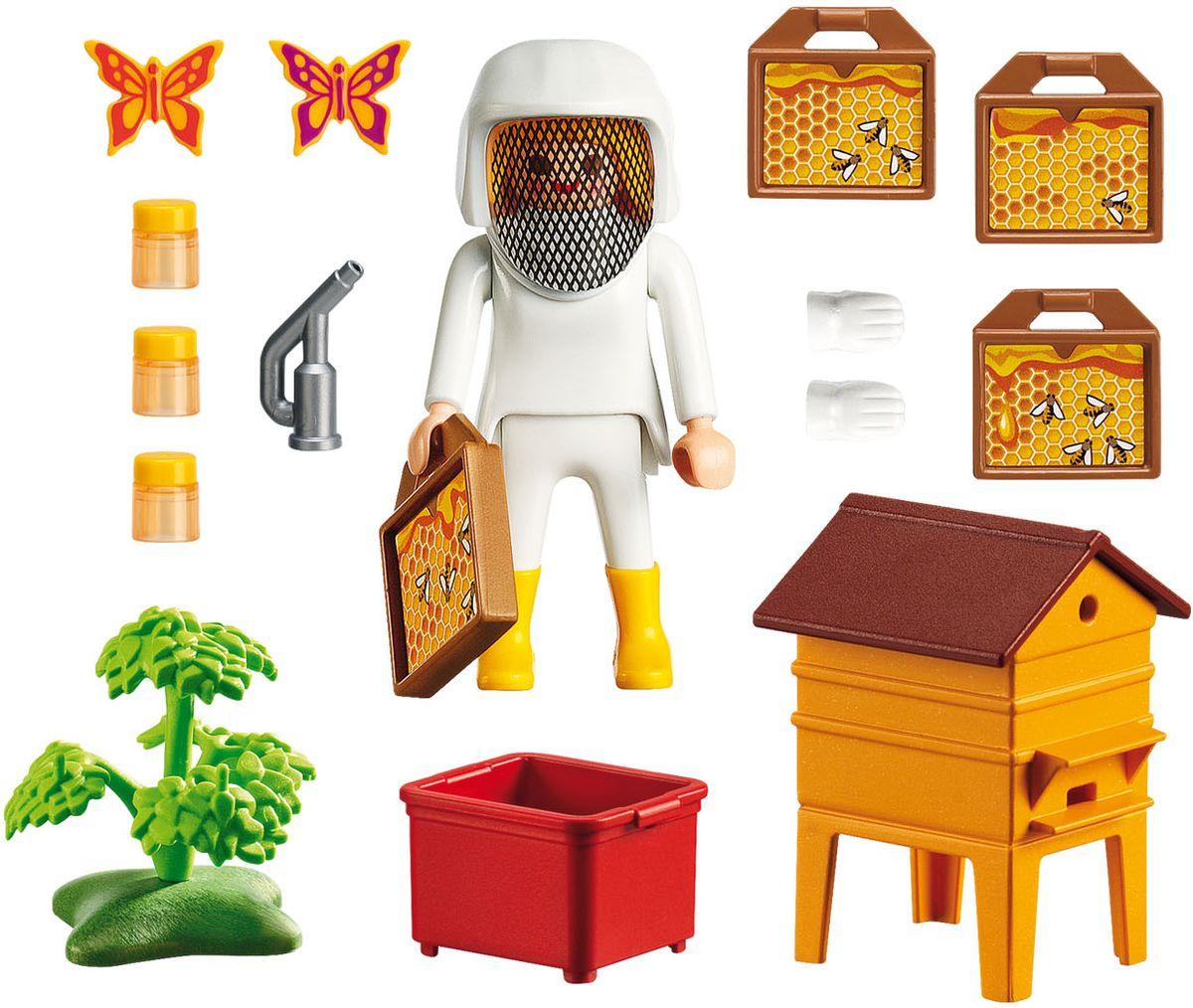 Playmobil Игровой набор Жизнь в лесу Пчеловод с медом