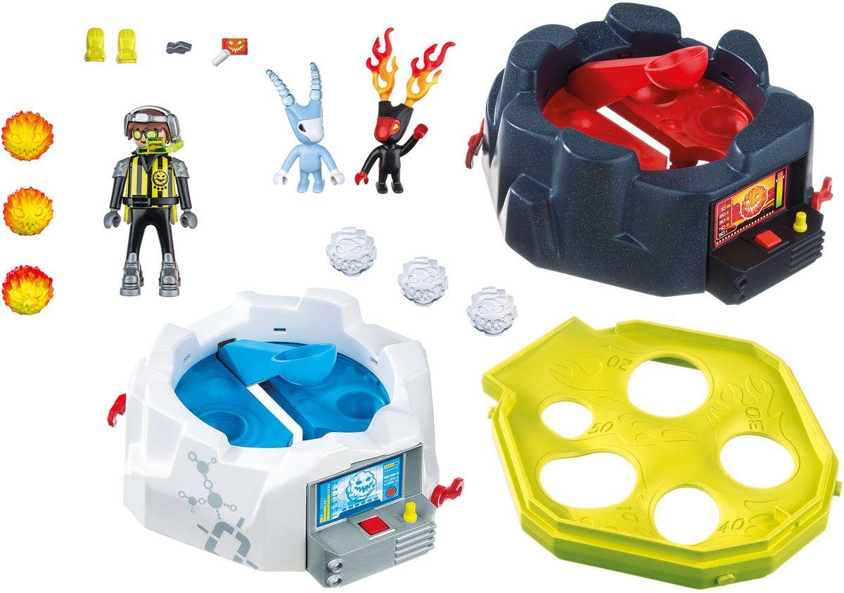 Playmobil Игровой набор Огонь и лед Игра монстры против пришельцев