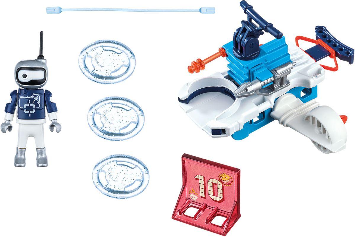 Playmobil Игровой набор Огонь и лед Айсбот с диск шутером playmobil спасатели с носилками
