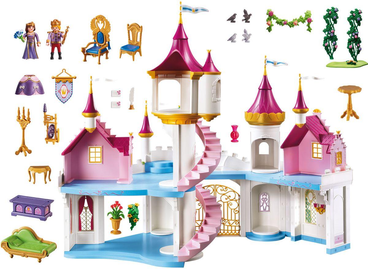 Playmobil Игровой набор Большой замок Принцессы playmobil принцессы луна с лошадкой