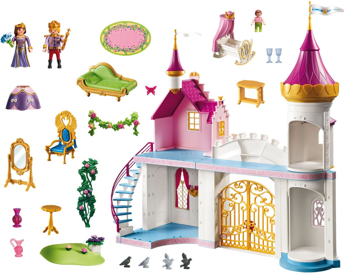 Playmobil Игровой набор Королевская резиденция принцесса xxl playmobil