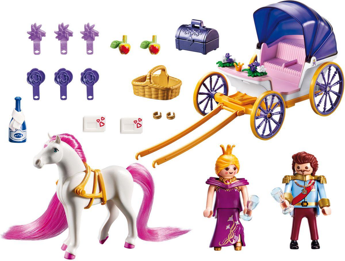 Playmobil Игровой набор Королевская чета с каретой - Игровые наборы
