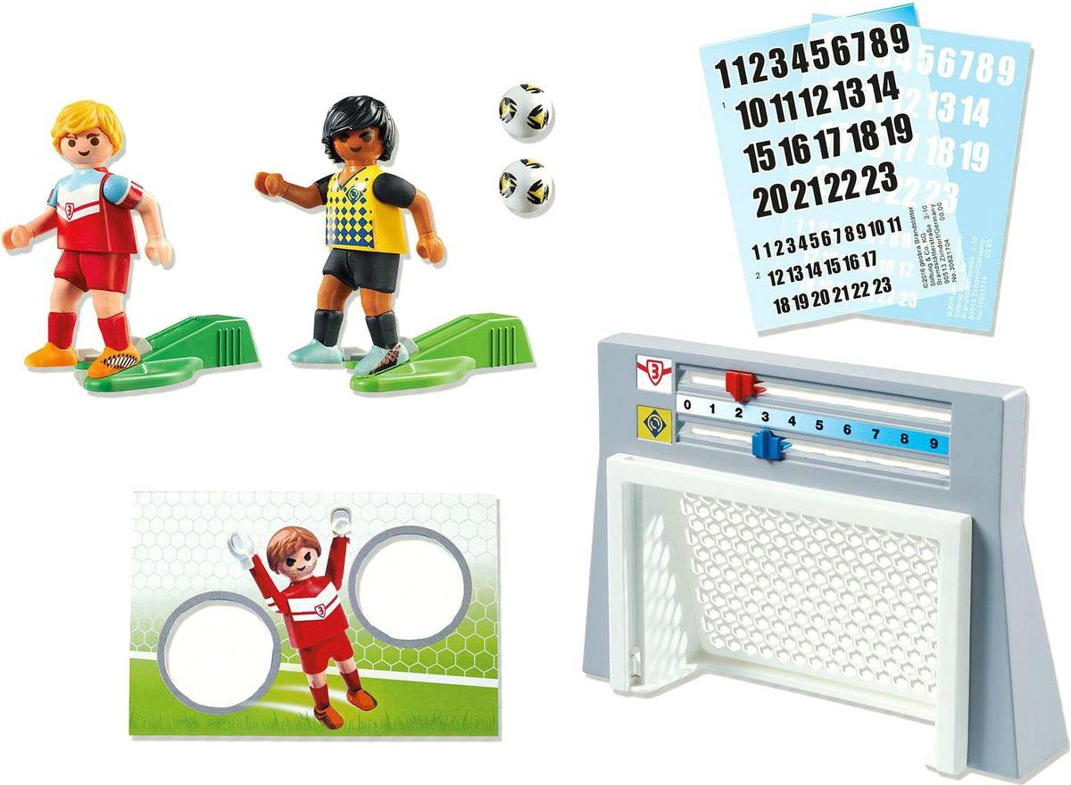 Playmobil Игровой набор Футбол Стена для тренировки ударов playmobil футбол игрок сборной англии