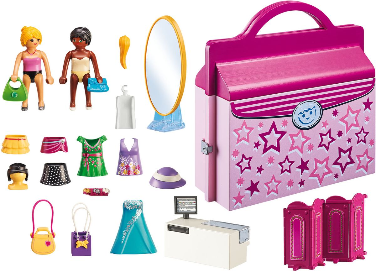 Playmobil Игровой набор Модный Бутик Возьми с собой конструктор playmobil модный бутик девушка в летнем наряде 6882pm