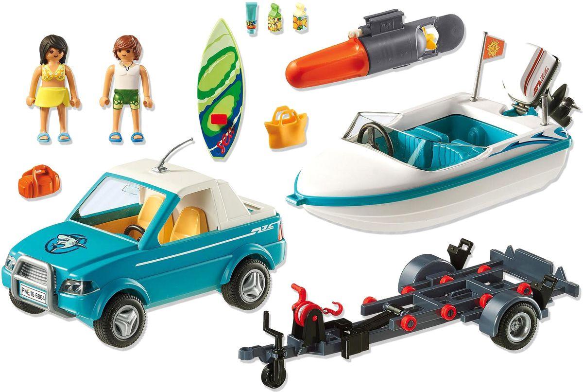 Playmobil Игровой набор Летние развлечения Серфер с катером фэшн и стиль знаменитость на красной дорожке playmobil