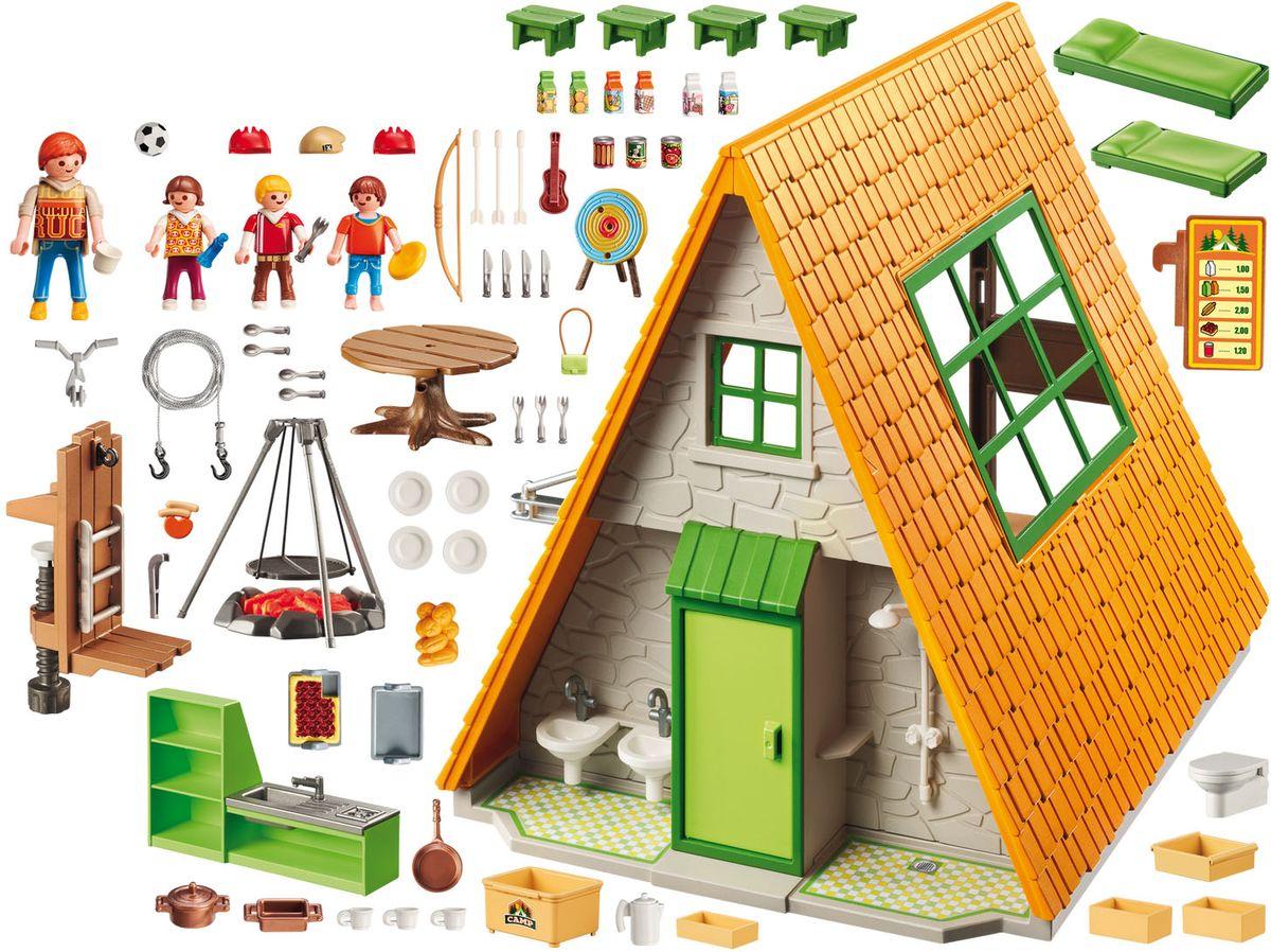 Playmobil Игровой набор Летний лагерь Дом для кемпинга playmobil веселые каникулы