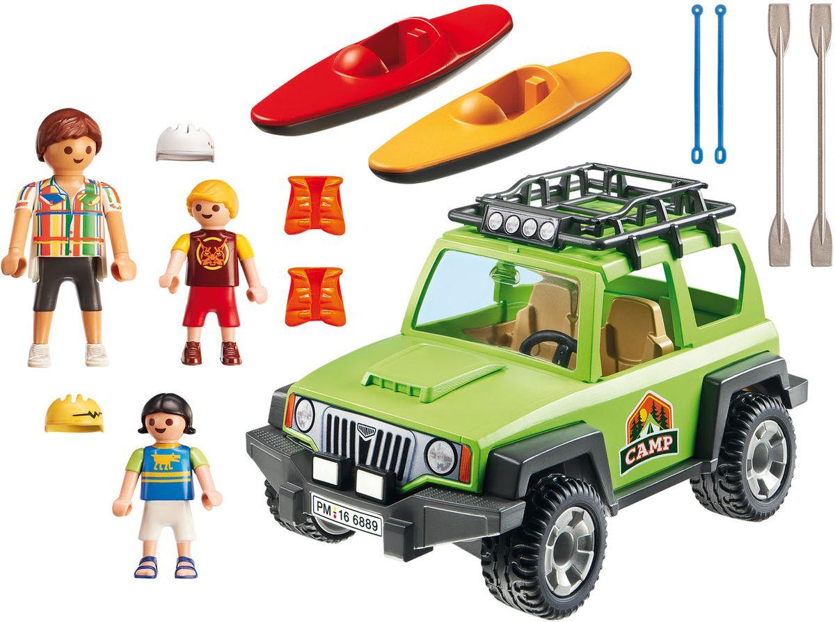 Playmobil Игровой набор Летний лагерь Внедорожник