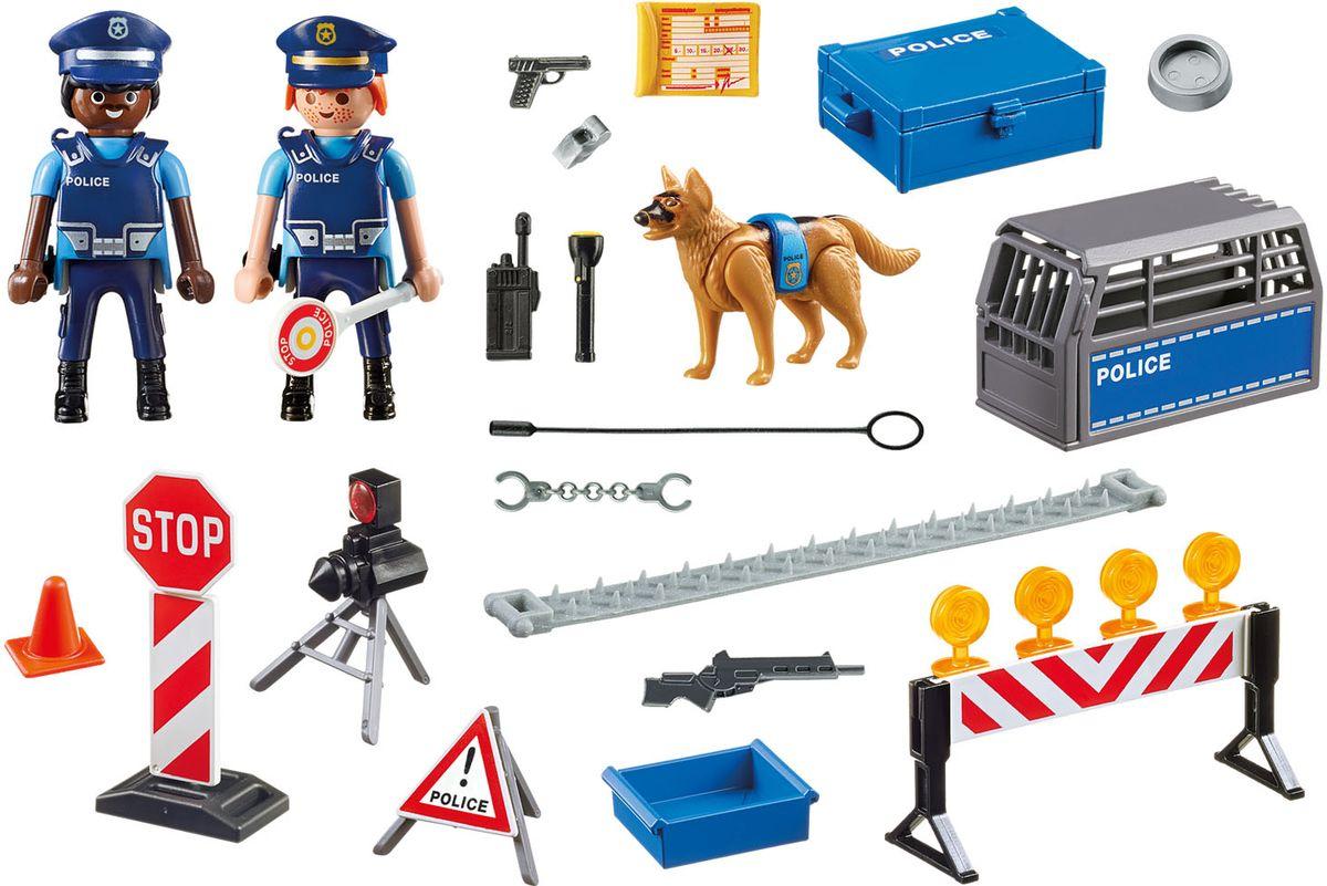 Playmobil Игровой набор Полиция Блокпост полиции лидия сычева последний блокпост