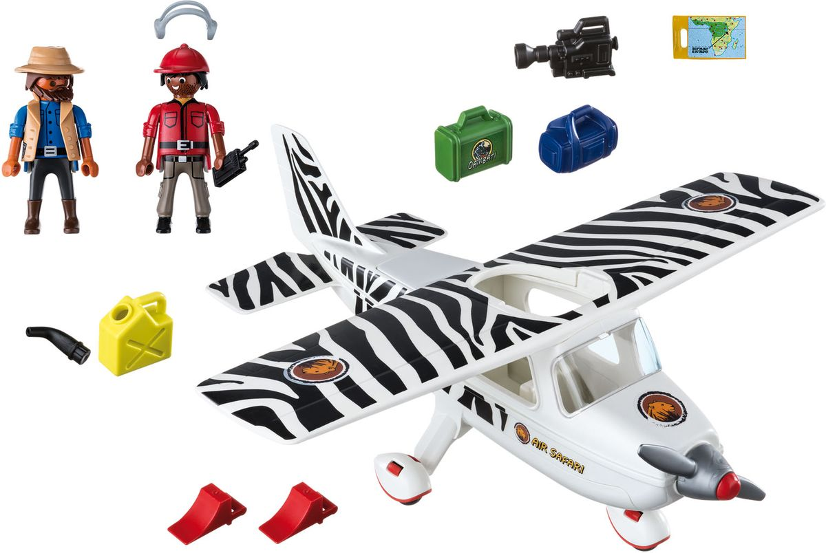 Playmobil Игровой набор Африка Сафари самолет игровые наборы playmobil большое африканское сафари
