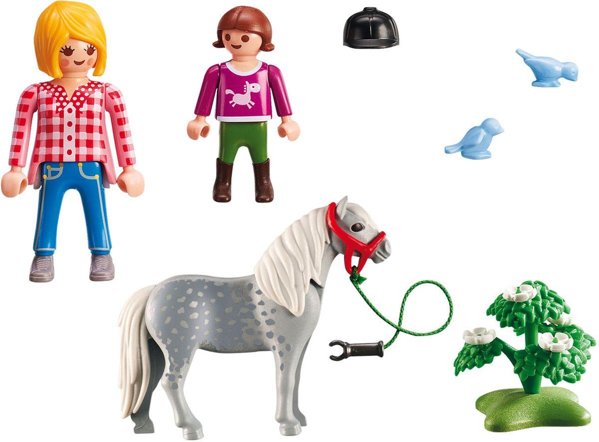 Playmobil Игровой набор Пони на прогулке
