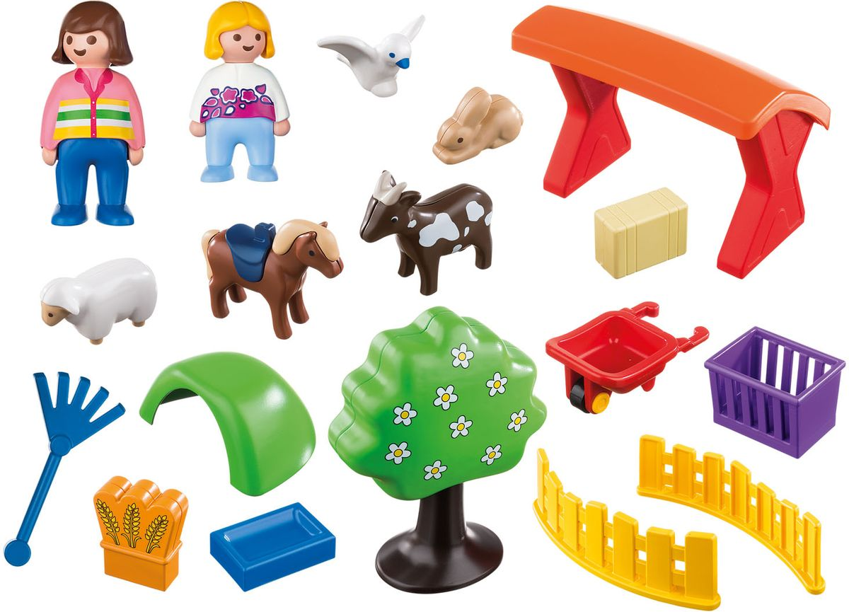 Playmobil Игровой набор Контактный зоопарк playmobil® зоопарк стая фламинго playmobil