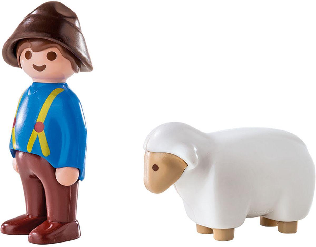 Playmobil Игровой набор Пастух с овцой playmobil игровой набор в поисках приключений лодка с браконьерами