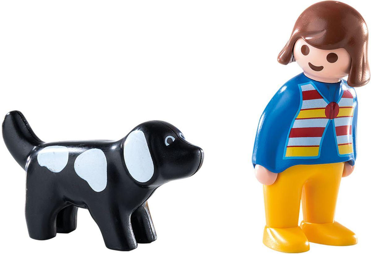 Playmobil Игровой набор Женщина с собакой