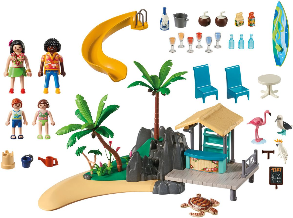Playmobil Игровой набор Бар на острове playmobil® playmobil 5554 парк развлечений аттракцион звездолет с огнями