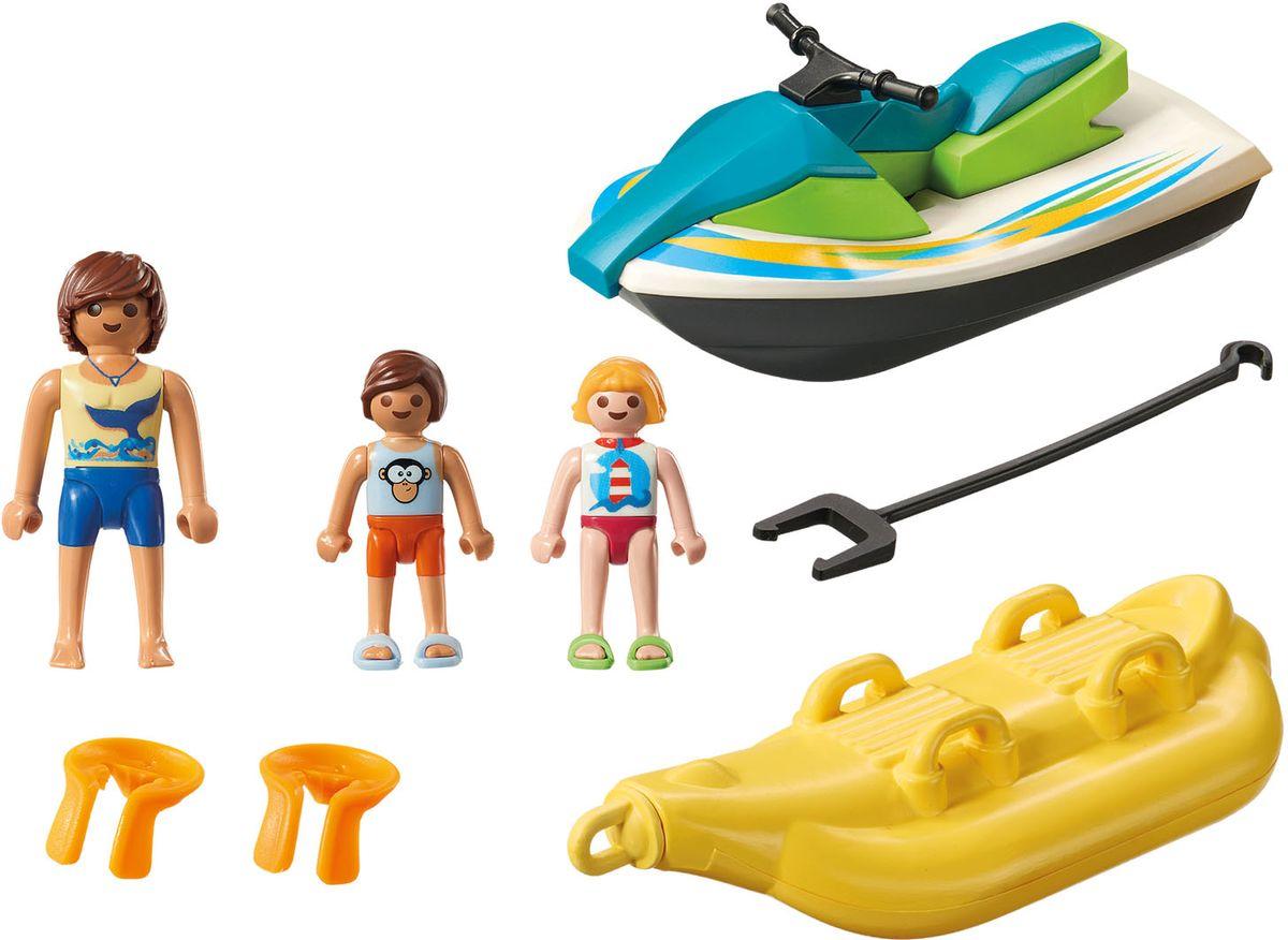 Playmobil Игровой набор Гидроцикл с лодкой банан playmobil игровой набор африка газели